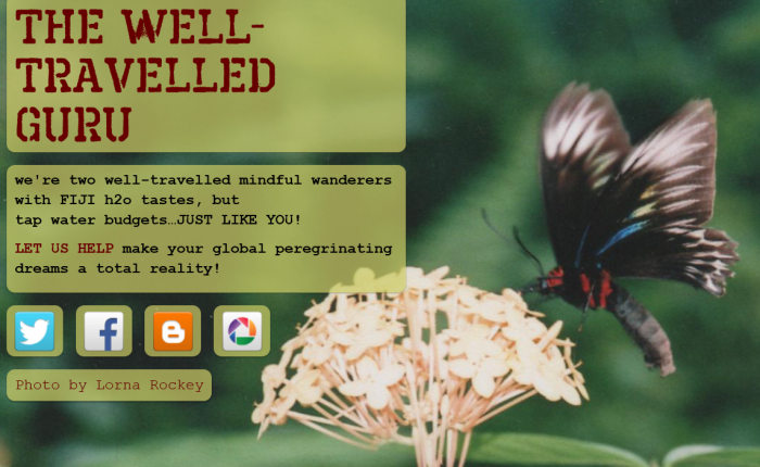 the well-travelled guru Website