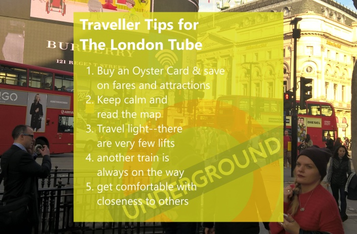 Traveller Tips for the London Tube